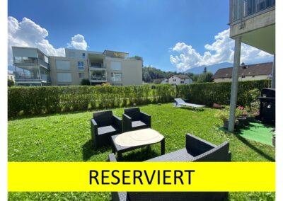 5.5-Zi-Gartenwohnung in Benken (SG)